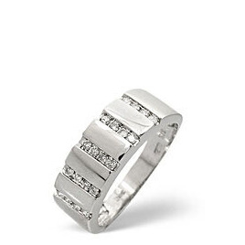 1/2 Eternity Ring 0.25CT Diamond 9K White Gold Reviews