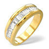 Photo of 1/2 Eternity Ring 1.00CT Diamond 9K Yellow Gold Jewellery Woman