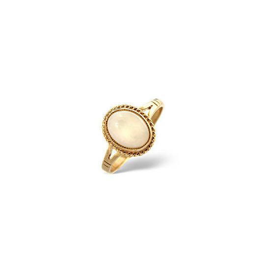 Opal Ring  Opal 9K Yellow Gold