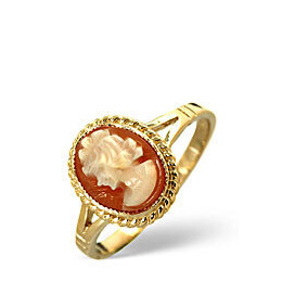 Cameo Ring  Cameo 9K Yellow Gold Reviews