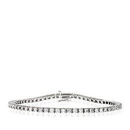Tennis Bracelet 3.00CT Diamond 9K White Gold Reviews