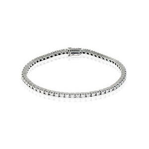 Photo of Tennis Bracelet 1.00CT Diamond 9K White Gold Jewellery Woman