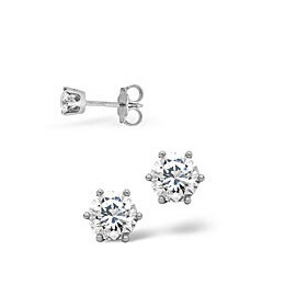 The Diamond Store Stud Earrings 0 30CT Diamond 18KW Reviews