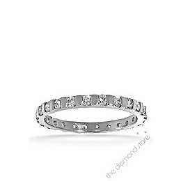 Hannah 18K H/Si Diamond Full Eternity Ring 0.50ct With Bar Reviews