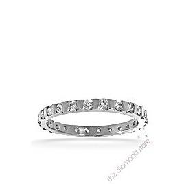Hannah 18K H/Si Diamond Full Eternity Ring 0.50ct With Bar Reviews