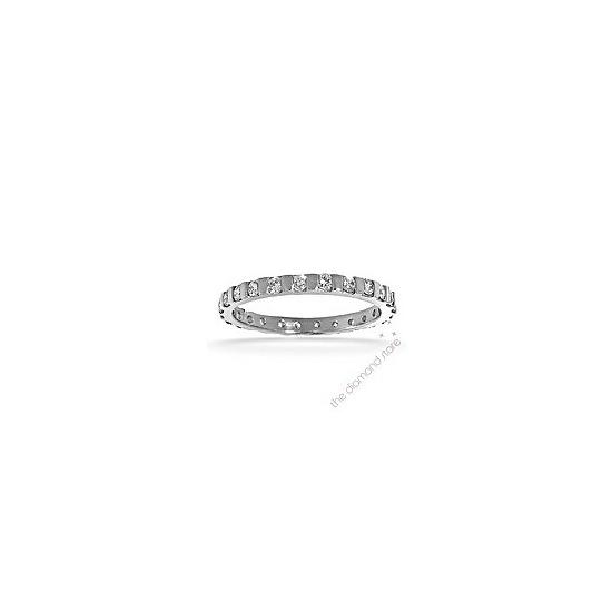 Hannah 18K H/Si Diamond Full Eternity Ring 0.50ct With Bar
