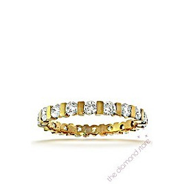Hannah 18K H/Si Diamond Full Eternity Ring 1.00ct With Bar Reviews