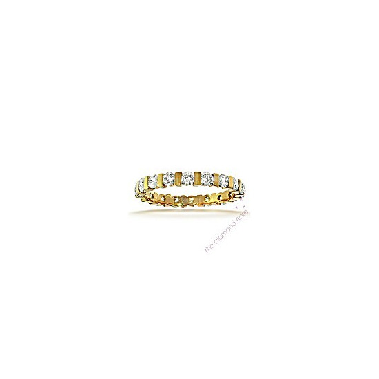 Hannah 18K H/Si Diamond Full Eternity Ring 1.00ct With Bar