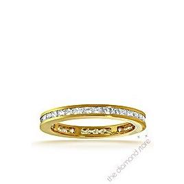 Lauren 18K G/Vs Princess Cut Diamond Full Eternity Ring 0.50ct Reviews