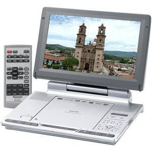 Photo of Panasonic DVD LS91 Portable DVD Player