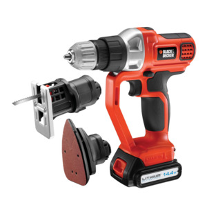 Photo of Black & Decker 14.4V Lithium Ion EVO Multitool Power Tool