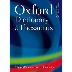 Photo of Oxford Dictionary and Thesaurus Oxford Book