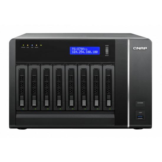 QNAP TS-879 PRO 8 Bay Desktop NAS