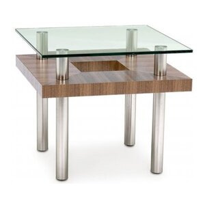 Photo of BDI Natural Stained Walnut End Table Furniture