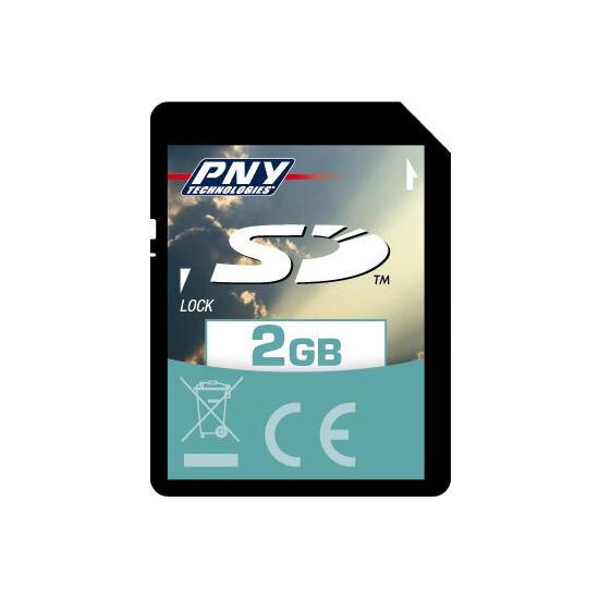 PNY 2GB SD CARD