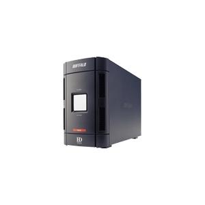 Photo of Buffalo DriveStation Duo HD-W1.0TIU2/R1 - Hard Drive Array - 1 TB - 2 Bays ( SATA-150 ) - 2 X HD 500 GB - FireWire, Hi-Speed USB (External) External Hard Drive
