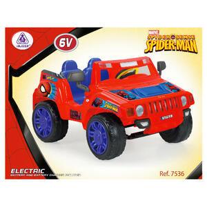 Photo of Spiderman Evasive Jeep 12V Toy