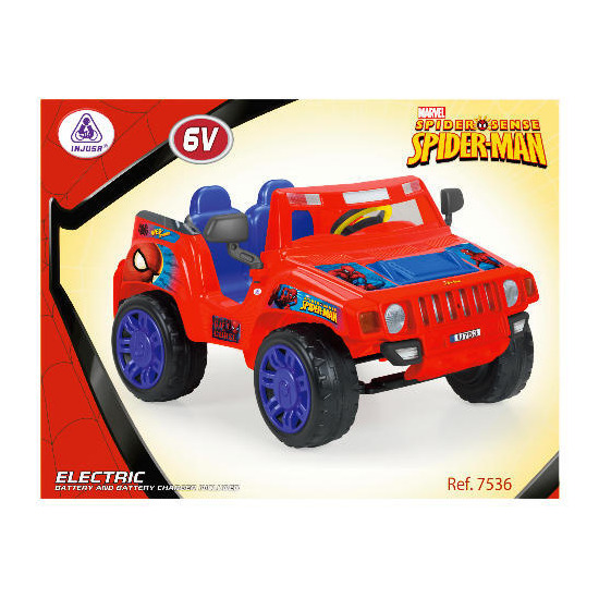 Spiderman Evasive Jeep 12V
