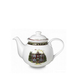Portmeirion Christmas story tea pot
