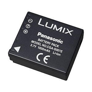Photo of Panasonic CGA-S007 Camera and Camcorder Battery