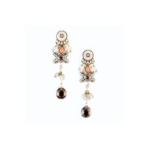Photo of Long Drop Bow Earrings Jewellery Woman