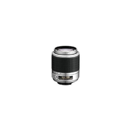 REFURBISHED 55-200mm f/4-5.6 AFS G (Silver)