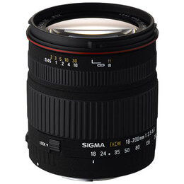 Sigma 18-200mm F3.5-6.3 DC OS (Nikon mount) Reviews