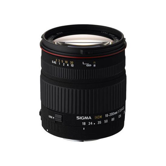 Sigma 18-200mm F3.5-6.3 DC OS (Nikon mount)