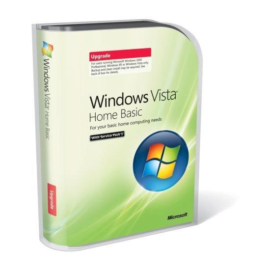 Windows Vista Basic Upgrade Version