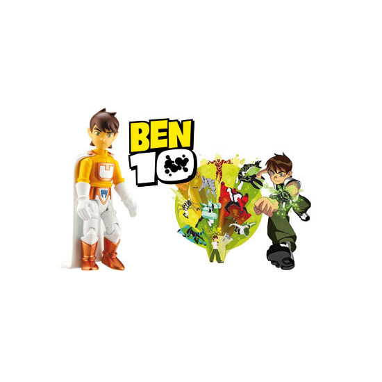 Ben 10 - 10cm Ben Tennyson Battle Figure