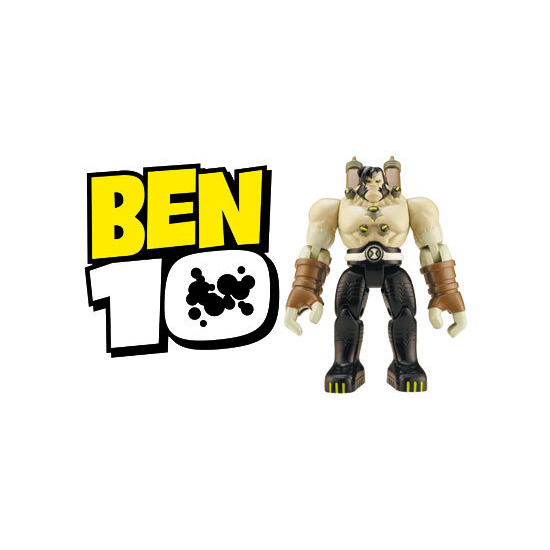 Ben 10 - 10cm Benvicktor Battle Figure