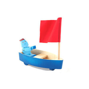 Photo of In The Night Garden - Wooden Iggle Boat Toy