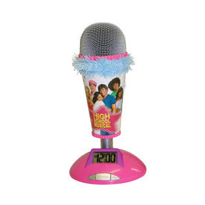 Photo of High School Musical Microphone Alarm Clock Toy
