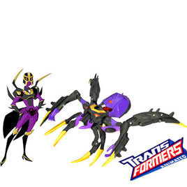 Transformers Animated Deluxe - Blackarachnia Reviews