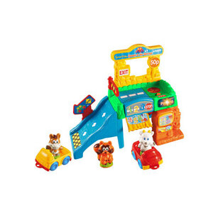 Photo of Smartville Count and Go Garage Toy
