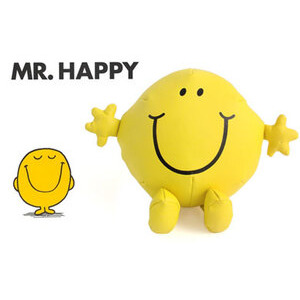 "Photo of MR Happy 10"" Vinyl Plush Gadget"