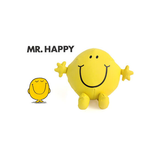 "Mr Happy 10"" Vinyl Plush"