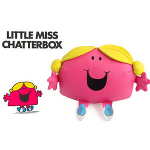 "Photo of Little Miss Chatterbox 10"" Vinyl Plush Toy"