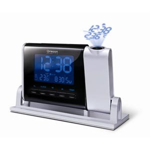 Photo of Radio Controlled Projection Clock and Thermometer Radio