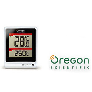 Photo of Wireless Indoor and Outdoor Thermometer Radio
