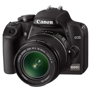 Photo of Canon EOS 1000D With 18-55MM Lens Digital Camera
