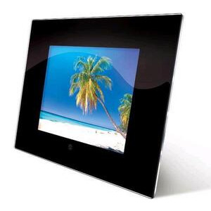 "Photo of Jessops Digital LCD Frame 8"" With Clock Digital Photo Frame"