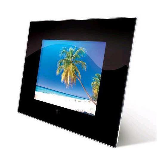 "Jessops Digital LCD Frame 8"" with clock"