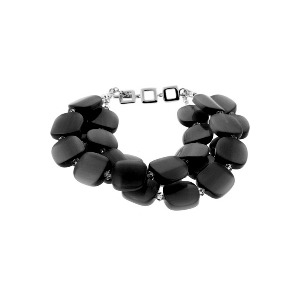 Photo of Black Large Luce Bracelet Jewellery Woman