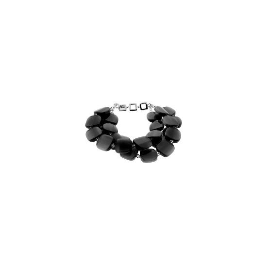 Black Large Luce Bracelet