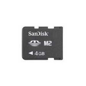 Photo of Sandisk 4GB Micro M2 Memory Card