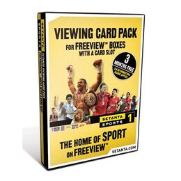 Setanta Card and Cam pack for Integrated Digital TV Reviews