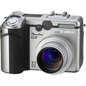 Photo of Canon PowerShot G6 Digital Camera