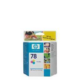 Original HP No.78 tri-colour (cyan magenta yellow) printer ink cartridge C6578DE Reviews