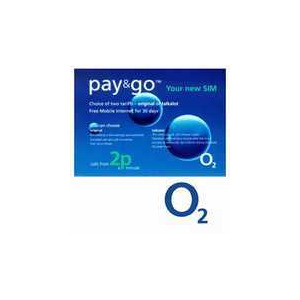 Photo of O2 PrePay Sim Sim Card